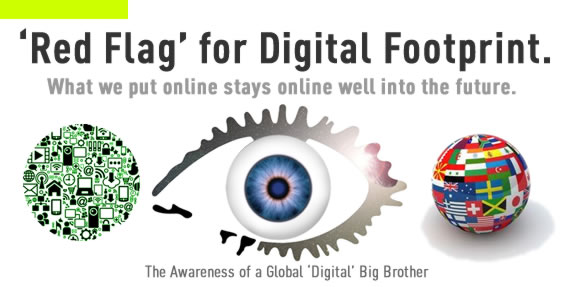 Red Flag for Digital Footprints
