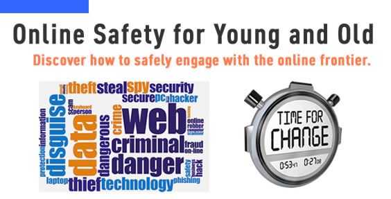 Picture about Online Safety for Young and Old
